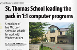 Bellevue Reporter Article Features STS