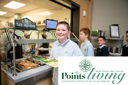 STS Dining Program Featured in January's Points Living Magazine