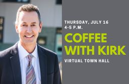 Coffee with Kirk Town Hall
