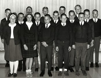St. Thomas students in 1964