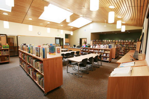 library and media center